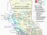 Detailed Map Of British Columbia Canada Guide to Canadian Provinces and Territories
