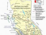 Detailed Map Of British Columbia Canada Political Map Of British Columbia Province Bc Color Map