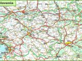 Detailed Map Of Italy with Cities and towns Large Detailed Map Of Slovenia with Cities and towns