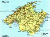 Detailed Map Of Mallorca Spain City Maps and atlases
