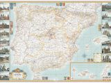 Detailed Map Of Mallorca Spain Mike Hall Maps Illustration