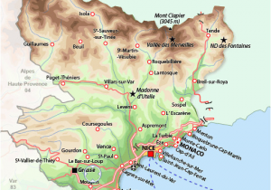 Detailed Map Of Provence France southern France Map France France Map France Travel