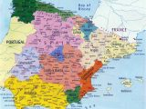 Detailed Map Of southern Spain Spain Maps Printable Maps Of Spain for Download