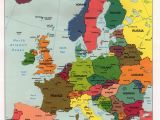 Detailed Map Of Western Europe Map 0f Europe
