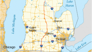 Dewitt Michigan Map U S Route 27 In Michigan Wikiwand