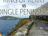 Dingle Bay Ireland Map Ring Of Kerry Vs Dingle Peninsula