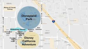 Disney Land California Map Maps Of the Disneyland Resort