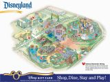 Disney Land California Map Printable Map Of Disneyland and California Adventure Printable Maps