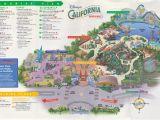 Disneyland and California Adventure Map Map Of Disney California Adventure California Adventure Land Map