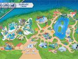 Disneyland and California Adventure Map Map Of Disney California Adventure Park Detailed California