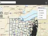 Dominion East Ohio Service area Map Oil Gas Well Locator