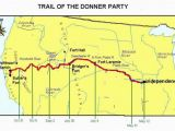 Donner Pass California Map the Tragic Story Of the Donner Party Legends Of America