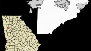 Douglas Georgia Map File Douglas County Georgia Incorporated and Unincorporated areas