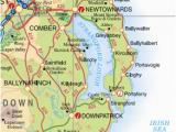 Downpatrick Ireland Map the Ballywalter and Cloughey Lifeboats