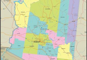 Driving Map Of Arizona Arizona County Map Awesome Us County Map Editable Valid Editable Map