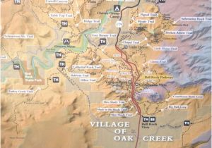 Driving Map Of Arizona Sr 179 Highlight Map Red Rock Scenic Highway Sedona Az Picture