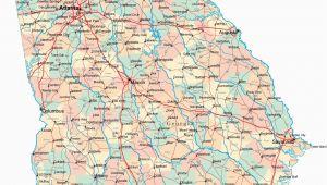 Driving Map Of Georgia Printable Us Driving Map Valid Driving Map southern California Valid