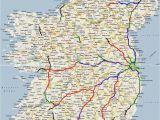 Driving Map Of Ireland Ireland Road Map