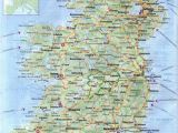Driving Map Of Ireland Maps Of Ireland Detailed Map Of Ireland In English tourist Map