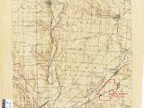 Dublin Ohio Zip Code Map Ohio Historical topographic Maps Perry Castaa Eda Map Collection