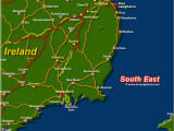 Dunleary Ireland Map Map Of Ireland south East