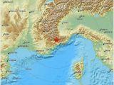 Earthquake Map Italy Earthquake Magnitude 2 1 northern Italy 2019 May 12 15 26 19 Utc