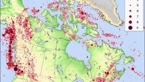 Earthquake Map oregon California Earthquake Map Risk Seismic Risk Map Of the United States