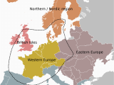 East and West Europe Map atlas Of Europe Wikimedia Commons