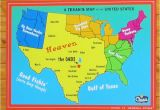 East Texas Maps A Texan S Map Of the United States Texas