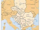 Eastern Europe Rivers Map European River Cruise Maps