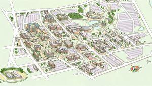 Eastern Michigan University Campus Map Campus Maps