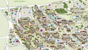 Eastern Michigan University Map Campus Maps