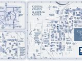 Eastern Michigan University Map Campus Maps University Of Michigan Online Visitor S Guide