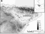 Ebro Valley Spain Map Figure 1 From Spatial Patterns Of the Urban Heat island In