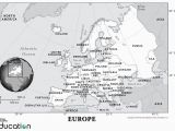 Economic Activity Map Of Europe Europe Human Geography National Geographic society