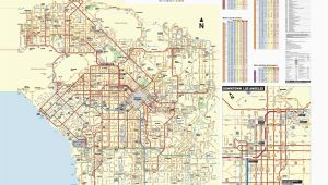 El Segundo California Map June 2016 Bus and Rail System Maps