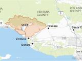 El Segundo California Map Maps Show Thomas Fire is Larger Than Many U S Cities Los Angeles