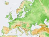 Elevation Map Europe atlas Of Europe Wikimedia Commons