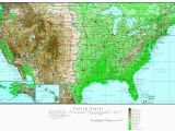 Elevation Map Of Arizona Us Elevation Road Map Fresh Us Terrain Map Lovely topographic Map