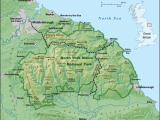 England Map 1500 north York Moors Wikipedia