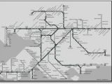 England National Rail Map Great Western Train Rail Maps