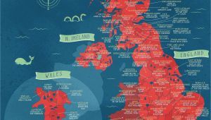 England Shire Map A Literal Map Of the Uk Welsh Things Map Of Britain Map