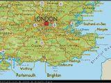 England south Coast Map Map Of south East England Map Uk atlas