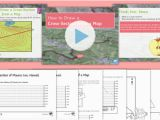 England topographic Map Map Skills How to Draw A Cross Section Of A Map Lesson Pack Cross