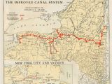 Erie Canal Map Ohio Erie Canal Maps