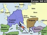 Europe 1848 Map Dark Ages Google Search Earlier Map Of Middle Ages Last