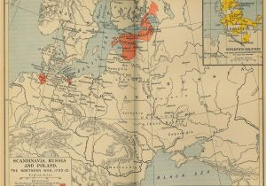 Europe 1912 Map Historical Maps Of Scandinavia