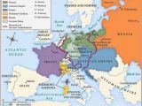 Europe after the Congress Of Vienna 1815 Map Betweenthewoodsandthewater Map Of Europe after the Congress
