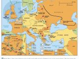 Europe During Ww1 Map This Map Depicts All the Battles Fought In World War 1 the