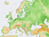 Europe Elevation Map atlas Of Europe Wikimedia Commons